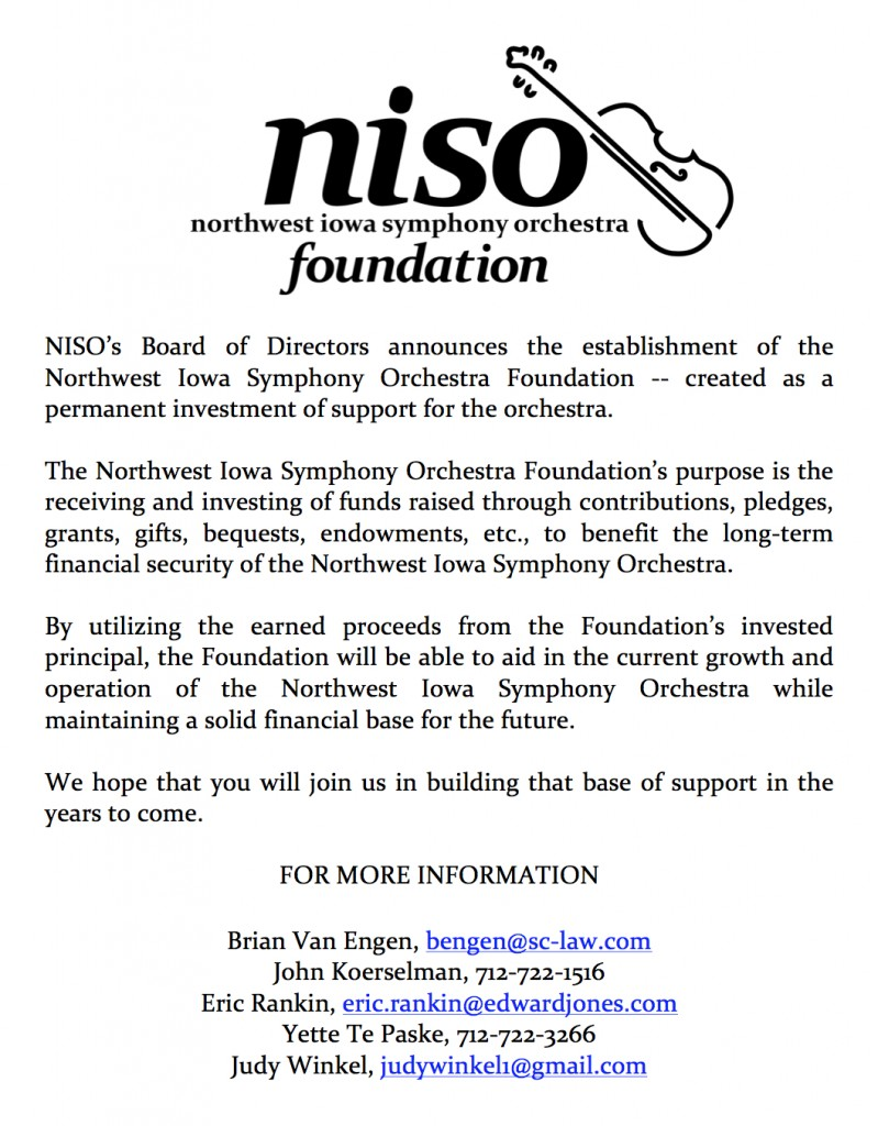 NISO Foundation Announcement for website